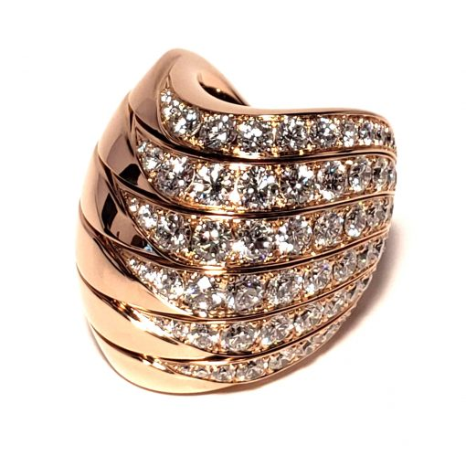 De Grisogono Zebra Ring With Rose Gold And Diamonds, 53901/04 7
