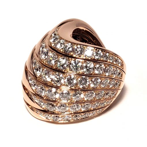 De Grisogono Zebra Ring With Rose Gold And Diamonds, 53901/04 8