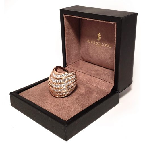 De Grisogono Zebra Ring With Rose Gold And Diamonds, 53901/04 3