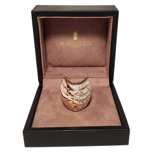 De Grisogono Zebra Ring With Rose Gold And Diamonds, 53901/04 2