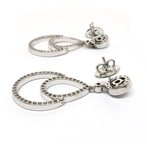 Damiani Eclisse Earrings With 18K White Gold And Diamonds, 20015300 8