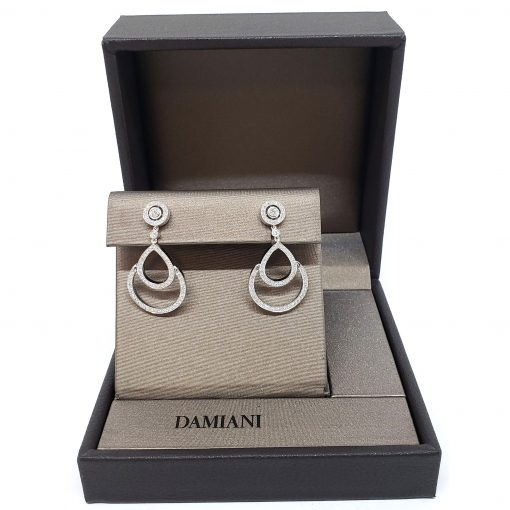 Damiani Eclisse Earrings With 18K White Gold And Diamonds, 20015300 2