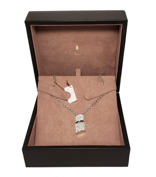 De Grisogono Tubetto Pendant with White Gold and Diamonds, 95302/01 7