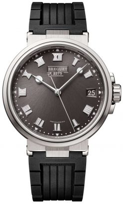 Brequet Marine 5517 Titanium Men's Watch 5517TI/G2/5ZU