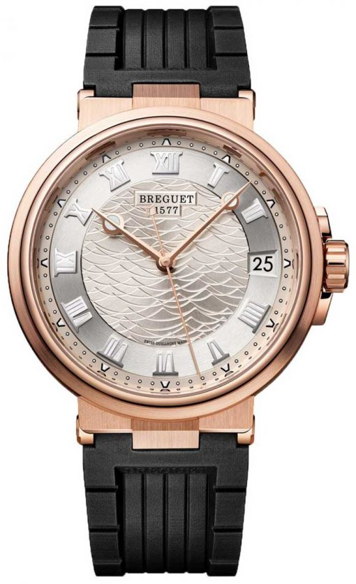 Brequet Marine 5517 18K Rose Gold Men's Watch, 5517BR/12/5ZU