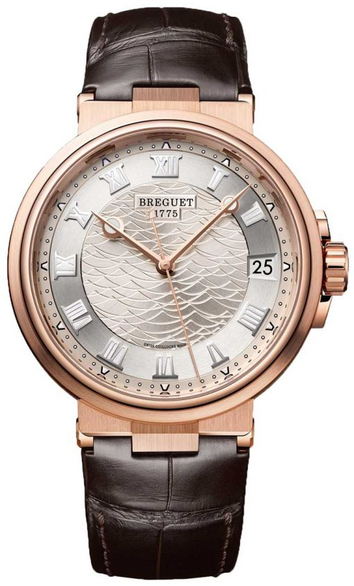 Brequet Marine 5517 18K Rose Gold Men's Watch, 5517BR/12/9ZU