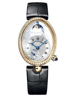 Breguet Reine De Naples 8908 18K Yellow Gold & Diamonds Ladies Watch 8908BA/52/964/D00D-1