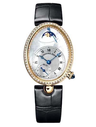 Breguet Reine De Naples 8908 18K Yellow Gold & Diamonds Ladies Watch, Preowned-8908BA/V2/864