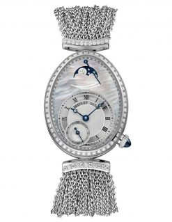 Breguet Reine De Naples 8908 18K White Gold & Diamonds Ladies Watch 8908BB/5T/J70/D0DD