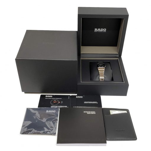 Rado Sintra Jubile Platinum Color Unisex Quartz Watch, 01.318.0780.3.015 10