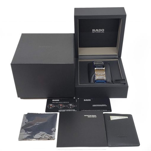 Rado Integral Stainless Steel Quartz Unisex Casual Watch, 01.152.0745.3.020 3