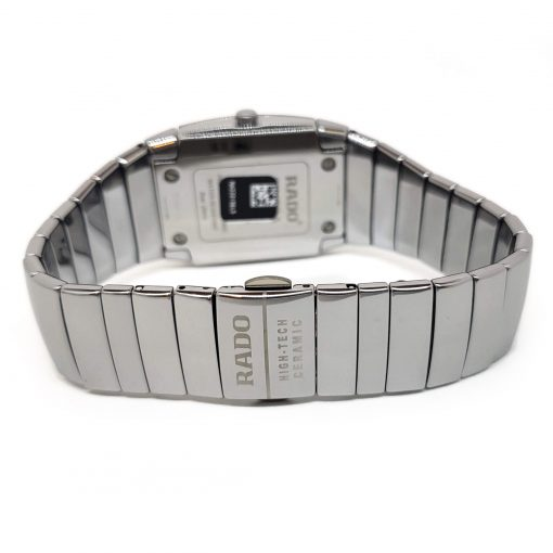 Sintra Silver Dial Platinum Color Ceramic Quartz Unisex Watch, 01.152.0721.3.010 10