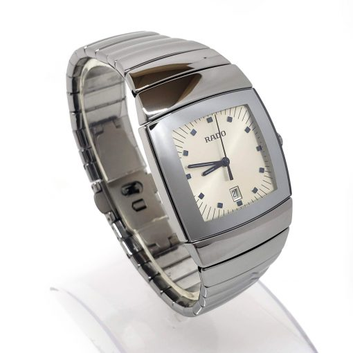 Sintra Silver Dial Platinum Color Ceramic Quartz Unisex Watch, 01.152.0721.3.010 7