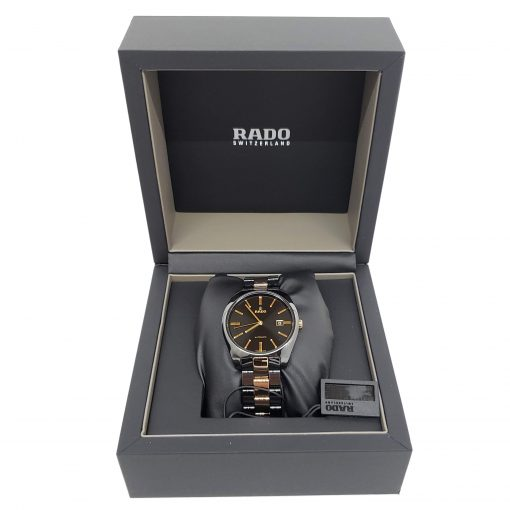 Rado Specchio Ceramos Two-Tone Automatic Unisex Watch, 01.629.0506.3.015 11