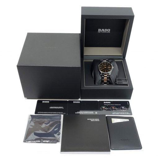 Rado Specchio Ceramos Two-Tone Automatic Unisex Watch, 01.629.0506.3.015 10
