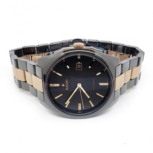 Rado Specchio Ceramos Two-Tone Automatic Unisex Watch, 01.629.0506.3.015 8