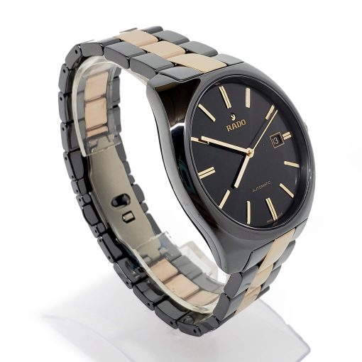 Rado Specchio Ceramos Two-Tone Automatic Unisex Watch, 01.629.0506.3.015 7