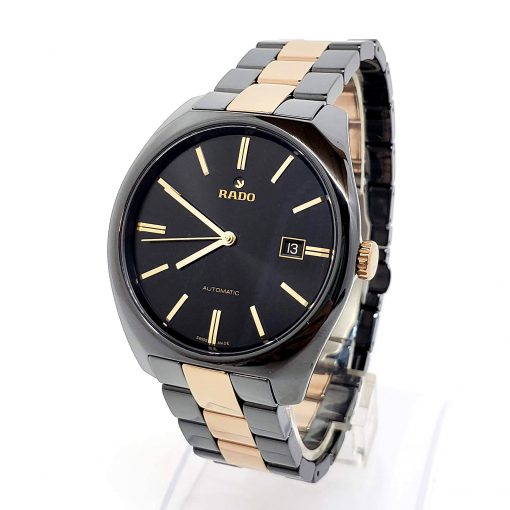 Rado Specchio Ceramos Two-Tone Automatic Unisex Watch, 01.629.0506.3.015 4