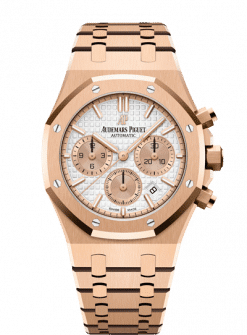 Audemars Piguet Royal Oak Chronograph 18K Pink Gold Men's Watch 26315OR.OO.1256OR.01
