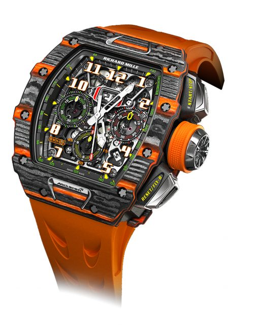 Richard Mille McLaren Automatic Flyback Chronograph Watch, RM11-03 2