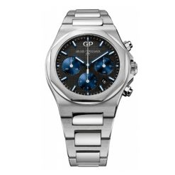 Girard Perregaux Laureato Chronograph Black Dial 42mm Mens Watch 81020-11-631-11A