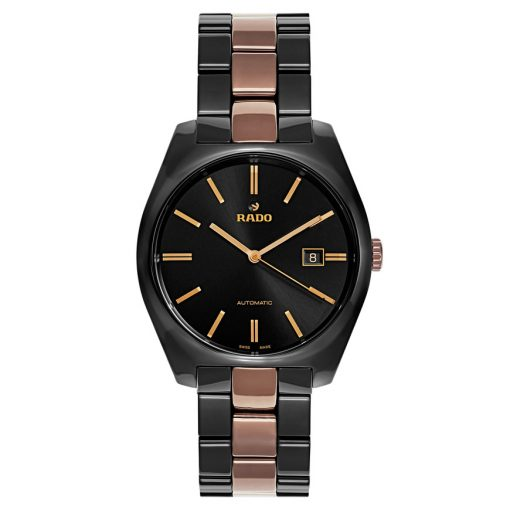 Rado Specchio Ceramos Two-Tone Automatic Unisex Watch, 01.629.0506.3.015