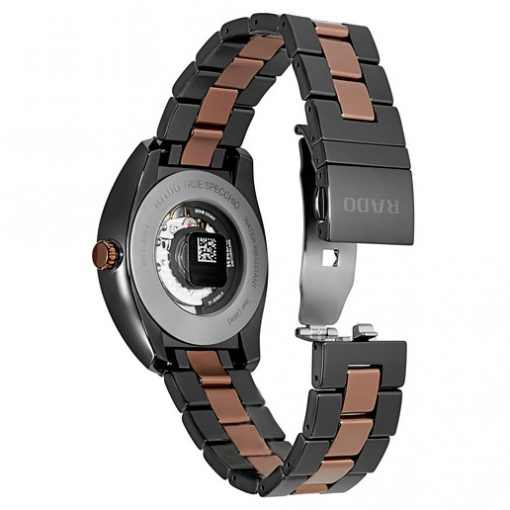 Rado Specchio Ceramos Two-Tone Automatic Unisex Watch, 01.629.0506.3.015 2