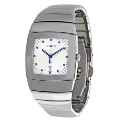 Sintra Silver Dial Platinum Color Ceramic Quartz Unisex Watch 01.152.0721.3.010
