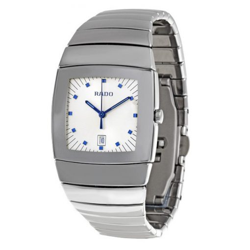 Sintra Silver Dial Platinum Color Ceramic Quartz Unisex Watch, 01.152.0721.3.010