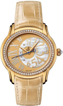 Audemars Piguet Millenary 18K Yellow Gold Ladies Watch preowned.77301BA.ZZ.D097CR.01