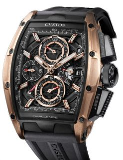 Cvstos Challenge GT Chrono II 5N Red Gold & Titanium Men's Watch CVSCC5NRGGT/TBL