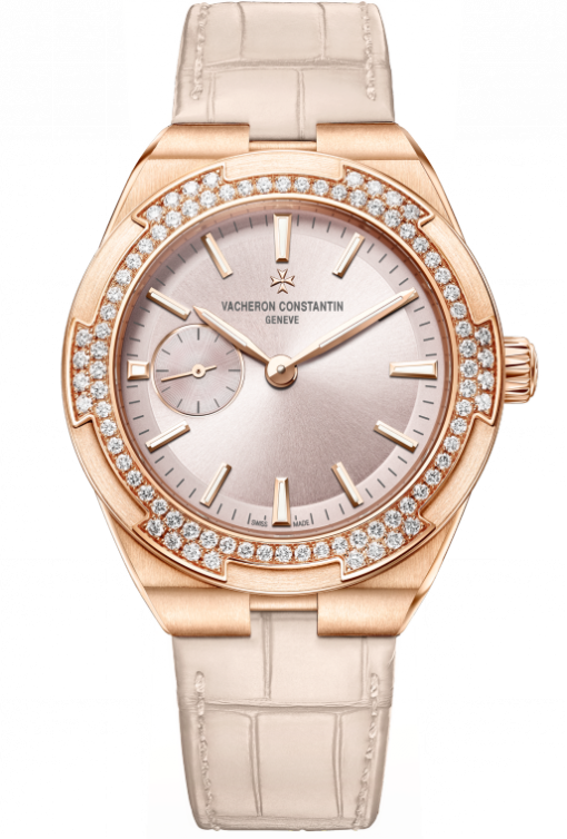 Vacheron Constantin Overseas 18K 5N Pink Gold & Diamonds Men's Watch, 2305V/000R-B077