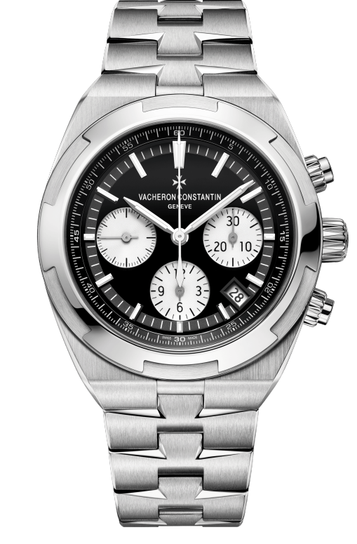 Vacheron Constantin Overseas Chronograph Stainless Steel Men's Watch, 5500V/110A-B148-1