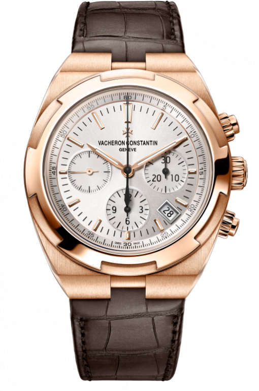 Vacheron Constantin Overseas Chronograph 18K 5N Pink Gold Men's Watch, 5500V/000R-B074