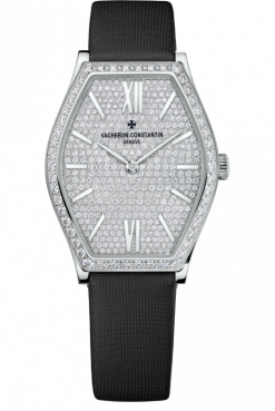 Vacheron Constantin Malte 18K White Gold & Diamonds Ladies Watch 81510/000G-9895