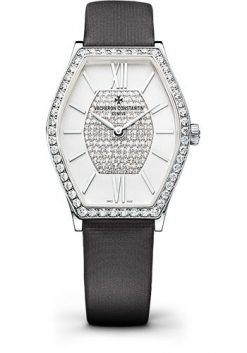 Vacheron Constantin Malte 18K White Gold & Diamonds Ladies Watch 25530/000G-9801