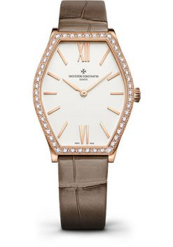 Vacheron Constantin Malte 18K 5N Pink Gold & Diamonds Ladies Watch 25530/000R-9742