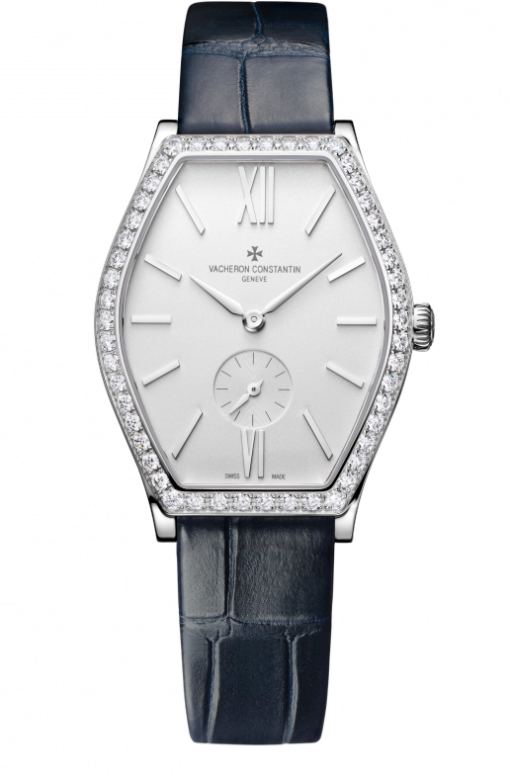 Vacheron Constantin Malte 18K White Gold & Diamonds Ladies Watch, 81515/000G-9891