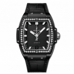 Hublot Spirit Of Big Bang Ceramic & Diamonds Unisex Watch 665.CX.1170.LR.1204
