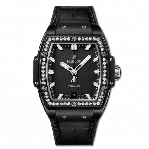 Hublot Spirit Of Big Bang Ceramic & Diamonds Unisex Watch, 665.CX.1170.LR.1204