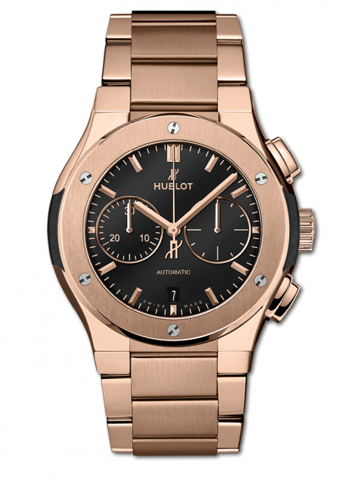 Hublot Classic Fusion Chronograph 18K King Gold Men's Watch, 540.OX.1180.OX