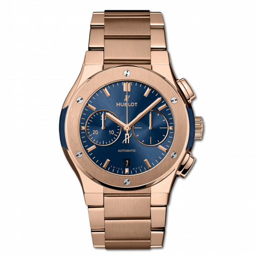 Hublot Classic Fusion Chronograph 18K King Gold Men's Watch, 540.OX.7180.OX