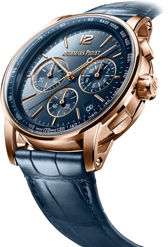 Audemars Piguet Code 11.59 Chronograph 18K Rose Gold Men's Watch, 26393OR.OO.A321CR.01