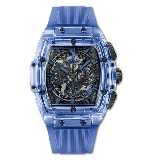 Hublot Spirit Of Big Bang Sapphire Crystal & Diamonds Men's Watch, 641.JL.0190.RT