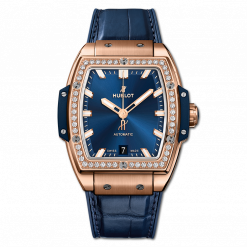 Hublot Spirit Of Big Bang 18K King Gold & Diamonds Men's Watch 665.OX.7180.LR.1204