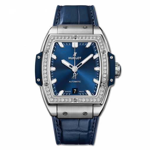 Hublot Spirit Of Big Bang Titanium & Diamonds Men's Watch, 665.NX.7170.LR.1204