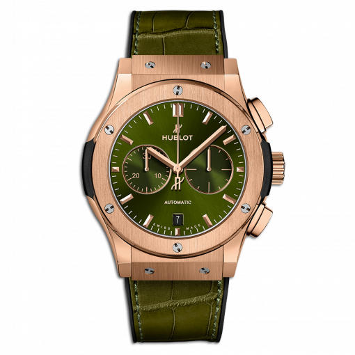 Hublot Classic Fusion Chronograph 18K King Gold Men's Watch, 541.OX.8980.LR