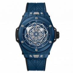 Hublot Big Bang One Click Sang Bleu Ceramic Men`s Watch 415.EX.7179.VR.MXM19