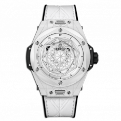 Hublot Big Bang One Click Sang Bleu Ceramic Men`s Watch 415.HX.2027.VR.MXM19