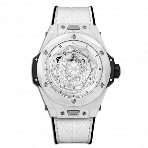 Hublot Big Bang One Click Sang Bleu Ceramic Men`s Watch, 415.HX.2027.VR.MXM19